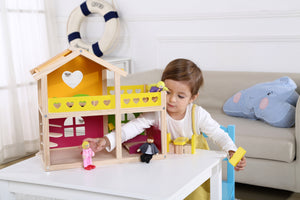 Doll house, playsets and accessories