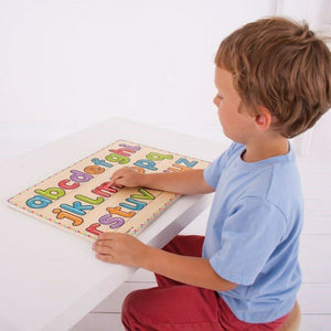 Wooden learn to write tray
