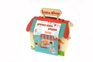 Grocery store playset