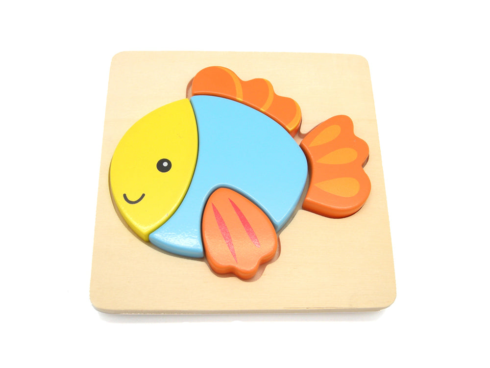 Toddler friendly chunky puzzle Fish