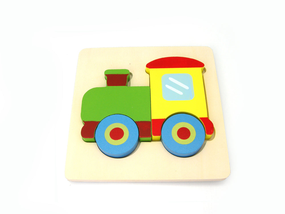 Toddler friendly chunky puzzle Train