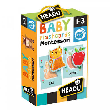 Montessori baby flash cards