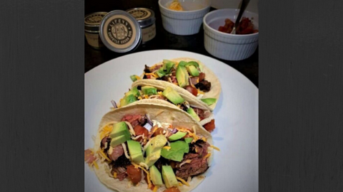 Chipotle Cocoa Steak Tacos
