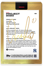 Load image into Gallery viewer, Andrew Thiele Don Mattingly Autograph - AP Gold Edition