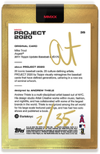 Load image into Gallery viewer, Andrew Thiele Mike Trout Autograph - Gold Tier Set