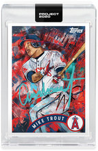 Load image into Gallery viewer, Andrew Thiele Mike Trout Autograph - Entry Level Tier