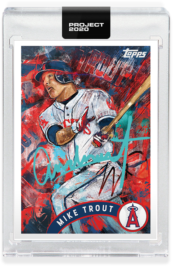 Andrew Thiele Mike Trout Autograph - Entry Level Tier