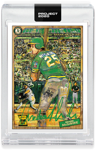 Andrew Thiele Mark McGwire Autograph - Value Meal Tier