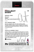 Load image into Gallery viewer, Andrew Thiele Mike Trout Autograph - Silver Tier Set