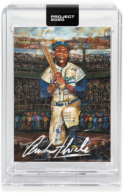 Andrew Thiele Jackie Robinson Autograph - Entry Level Tier