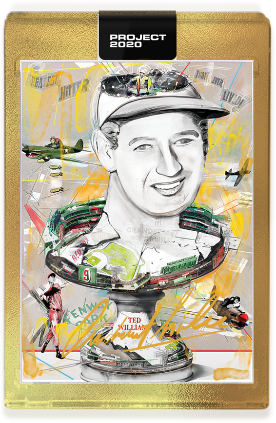 Andrew Thiele Ted Williams Autograph - Gold Level Tier