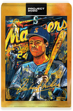 Load image into Gallery viewer, Andrew Thiele Ken Griffey Jr. Autograph - AP Gold Tier