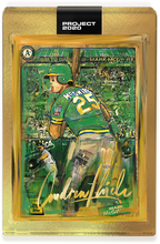 Load image into Gallery viewer, Andrew Thiele Mark McGwire Autograph - Supersize AP Tier
