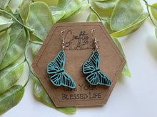 Load image into Gallery viewer, Butterfly Mandela Earrings