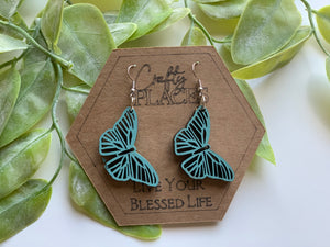 Butterfly Mandela Earrings