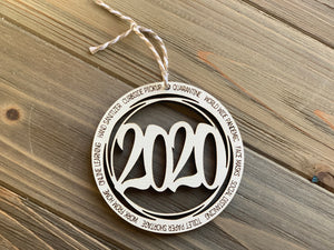 2020 Memorabilia Christmas Ornaments