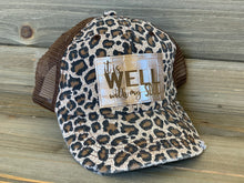 Load image into Gallery viewer, Leopard Print Brown Mesh Vintage Trucker Mesh Hat