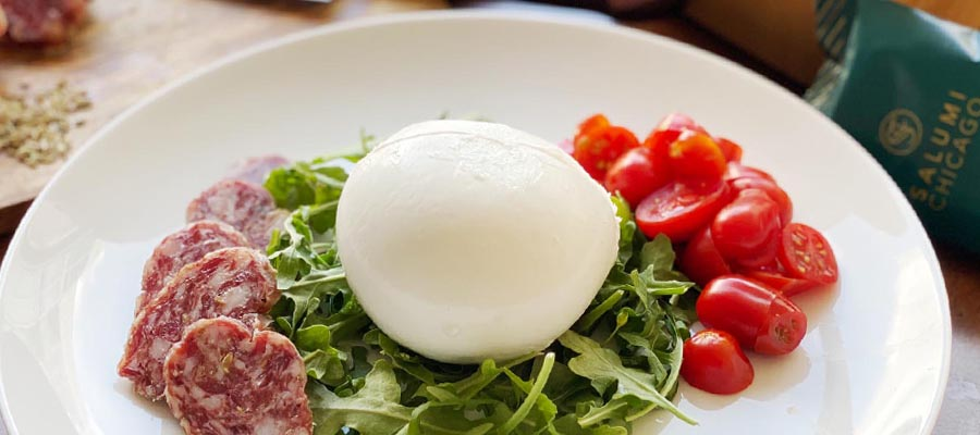 Burrata and Finocchiona Appetizer with Health Benefits