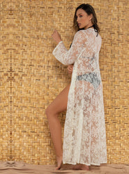 White <br>Coverup Kaftan