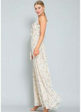 Border Lace <br>Maxi Dress