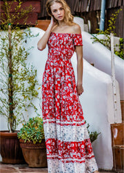 Red <br>Maxi Dress
