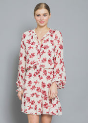 Rose Long Sleeve <br>Mini Dress