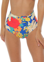 Flora High Waist <br>Bikini set