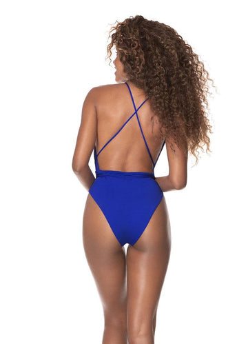 Azure Blue <br>Safari One Piece