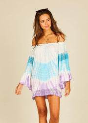 Light Blue Lavender <br>Coverup Dress