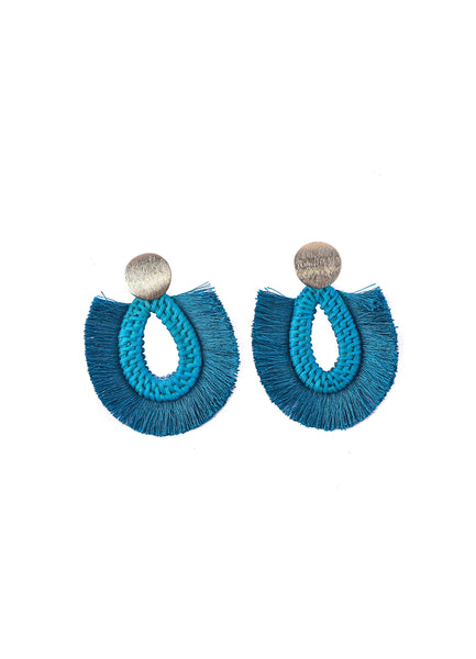 Rattan Tassel <br>Earrings