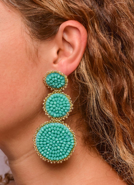 Layered Circles <br>Earrings