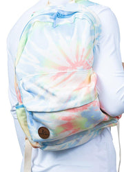Multi Color Tie Dye Backpack