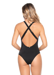 Zip Front <br>One Piece