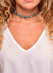 Shell <br>Choker Necklace