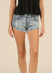 Basic <br>Denim Shorts