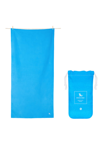 Classic Travel <br>Blue Towel