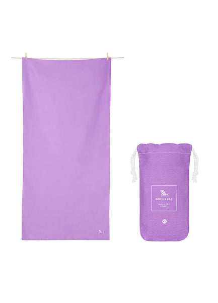 Classic Travel <br>Purple Towel
