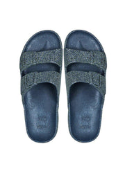 Trancoso <br>Navy Multi Sandals