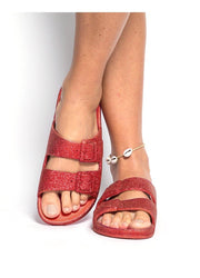 Trancoso <br>Red Sandals