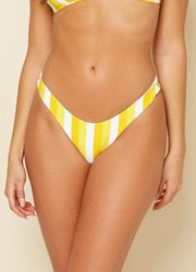 Muse Banana Stripe<br>Bikini Set