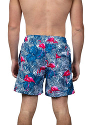 Tropical Flamingo <br>Swim trunk