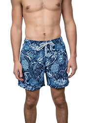Tropical Navy <br>Swim trunk