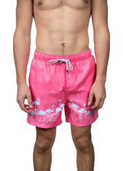 Pink Flamingo <br>Swim trunk