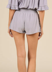 Dusty Crochet <br>Shorts