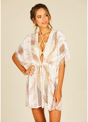 Sand Starburst <br>Coverup Dress