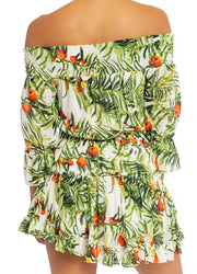 Tropic Leaves <br>Mini Dress