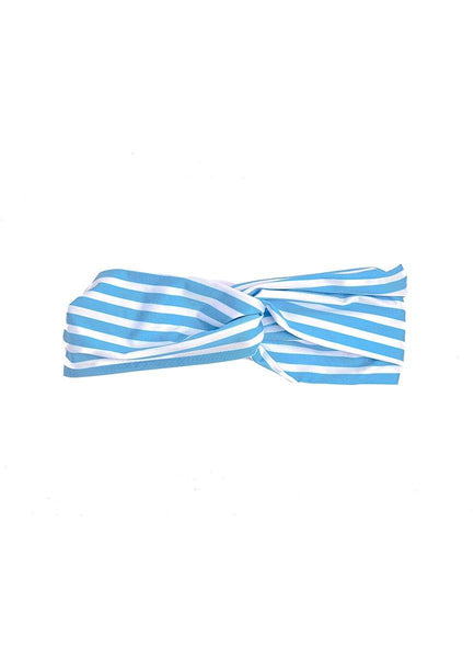 Blue Stripes <br>Headband