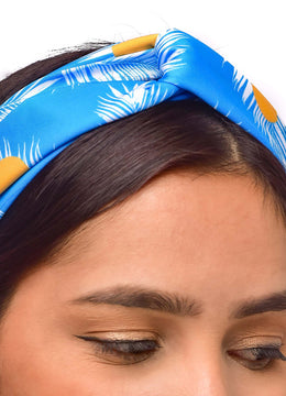 Feather print <br>Headband