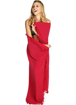 Red <br>Sarong
