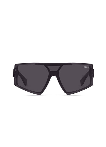 Space Age Matte <br>Black Sunglasses